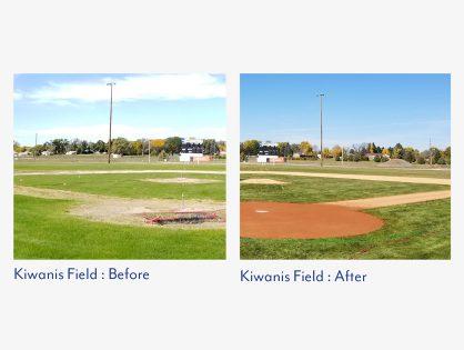 Three Field Renovation for Gordon/Rushville American Legion, Gordon, Nebraska